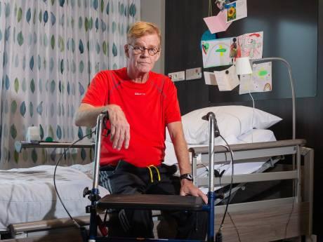 Op het randje van de dood: Henk Lenderink uit Nijverdal kampt met legionella