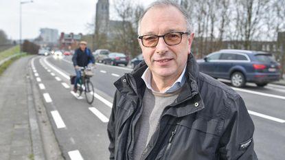 Nieuw fietspad op Matthijs Casteleinstraat maakt fietsring bijna rond