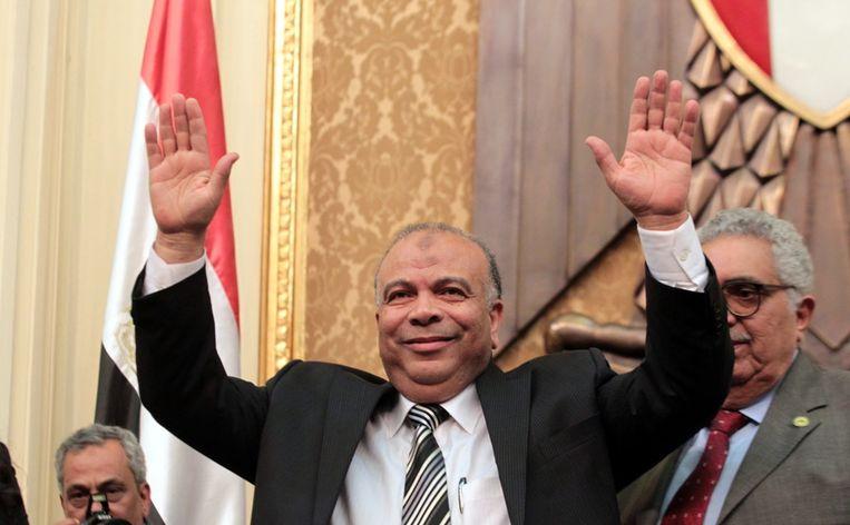 Leider van de Moslim Broederschap Saad el-Katatni in januari 2012. Beeld null