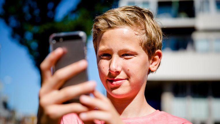 'Om mee te doen in de samenleving kun je niet zonder internet' Beeld anp