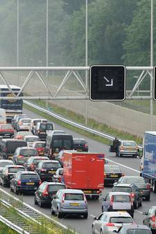 A12 in top drie van drukste snelwegen, langst in file bij Duiven
