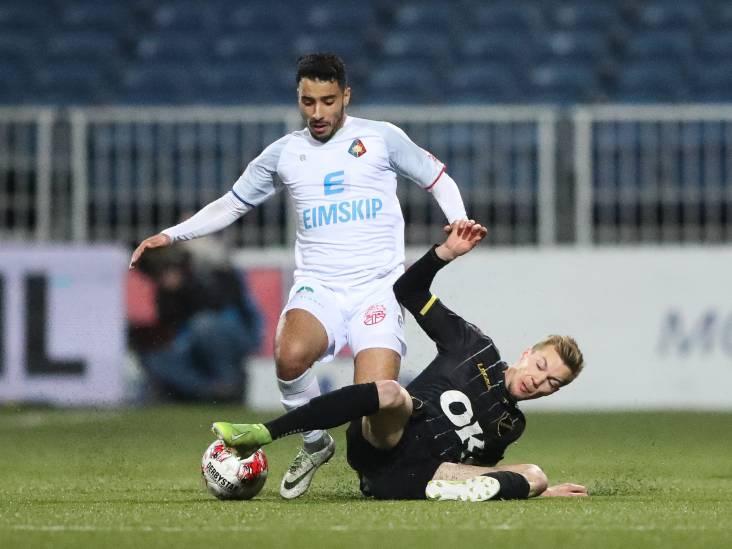 NAC-captain Verschueren: 'We staan op vier punten van De Graafschap, er is nog niks verloren'