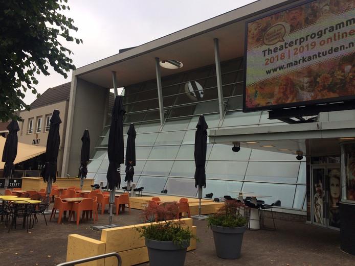 Sinds 1 juni heeft theater Markant Uden, net als alle buren, een flink terras.