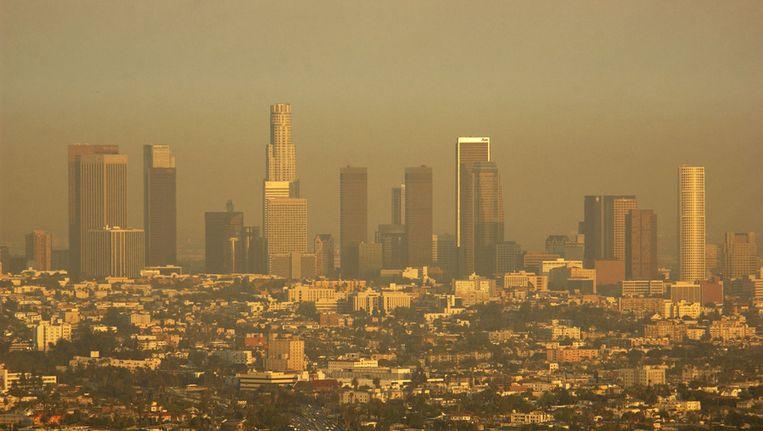 Skyline van Los Angeles Beeld ap