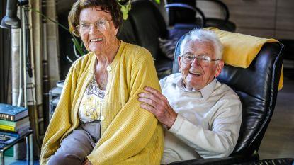 Getrouwd tijdens Tweede Wereldoorlog: Marcel (96) en Bertha (97) vieren 75 jaar huwelijksgeluk