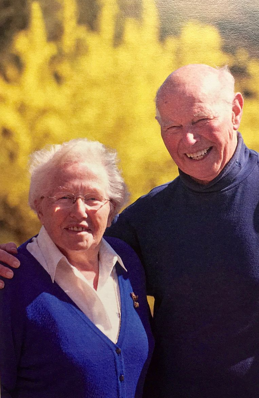 George en zijn vrouw Mia in 2010.  Beeld Marijke Talsma