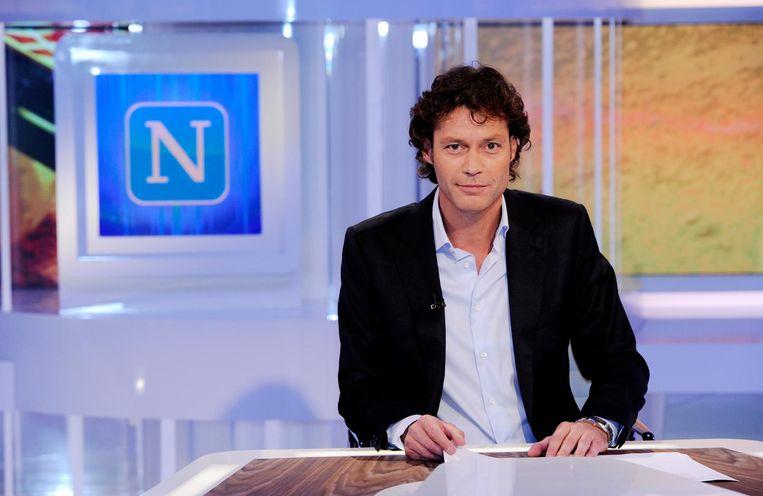Karhof als presentator van Nieuwsuur Beeld ANP