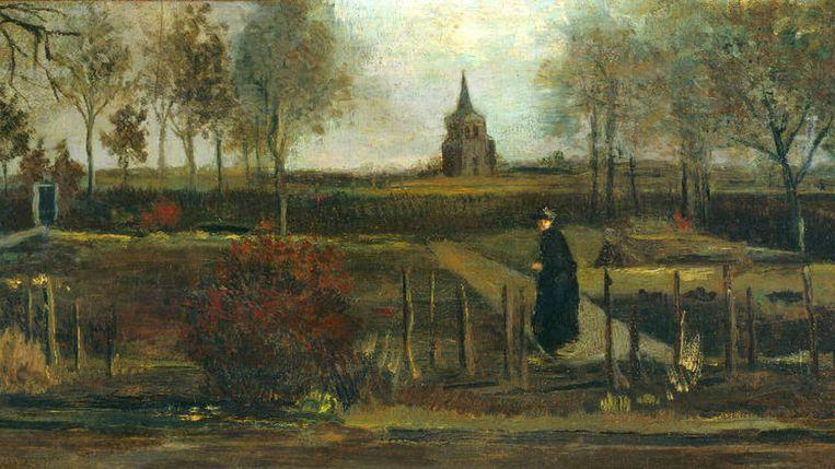 Lentetuin, de pastorietuin te Nuenen in het voorjaar. Beeld Groninger Museum