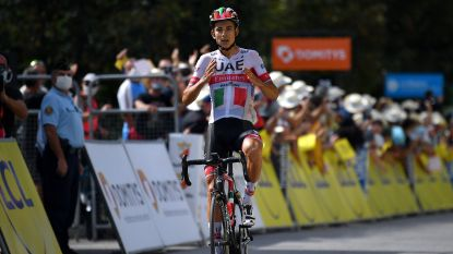Italiaans kampioen Formolo wint in Dauphine na knappe solo, Roglic steviger in het geel