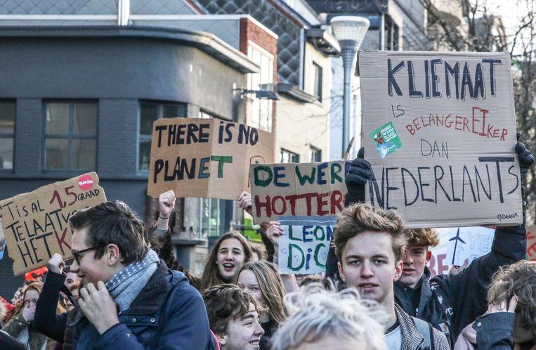Het wordt morgen vrijdag al de vierde klimaatmars in Kortrijk.