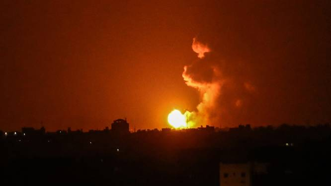 Israëlische luchtmacht valt doelwitten in Gaza aan na raketaanval