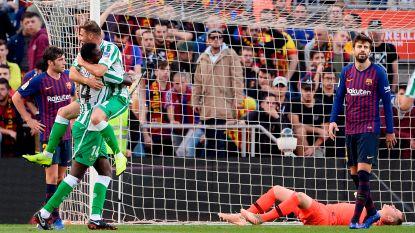 Barça, met Messi, slikt in Camp Nou eerste keer in 15 jaar vier treffers in La Liga: Ter Stegen vreselijk in de fout