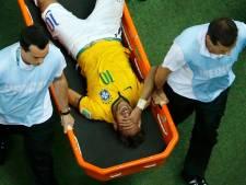 Gebroken rugwervel zet streep door rest WK Neymar