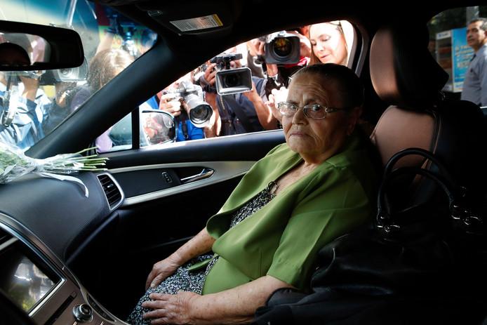 Consuelo Loera, moeder van Joaquin Guzman.