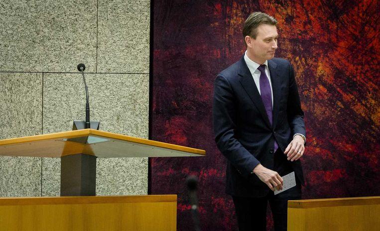 VVD-fractievoorzitter Halbe Zijlstra. Beeld anp
