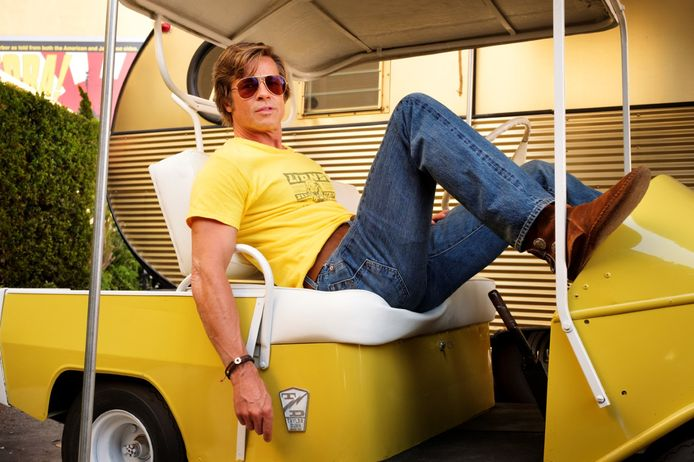 """Brad Pitt dans """"Once Upon a Time... in Hollywood""""."""