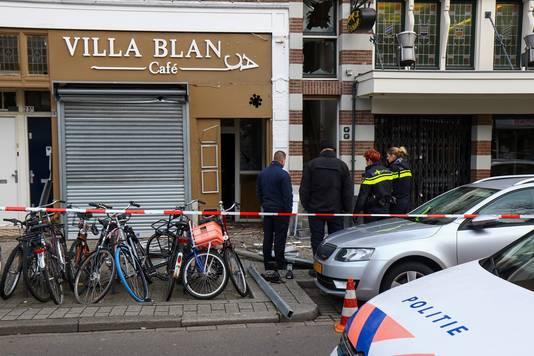 Explosie Schiedamseweg horecagelegenheid Vila Blanca.