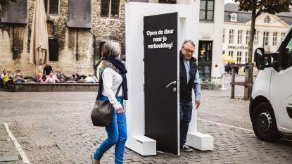 Een niet-alledaagse maandagochtend: Kunstinstallaties op vijf Gentse locaties promoten Nacht van de Verbeelding