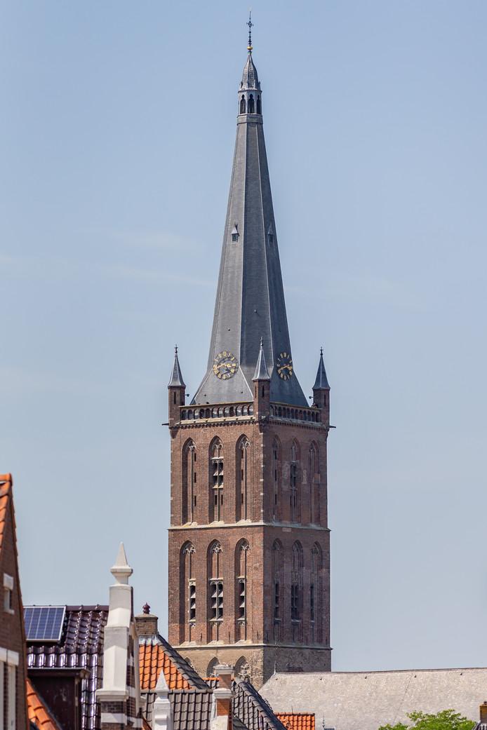 De Sint-Clemenskerk in Steenwijk.
