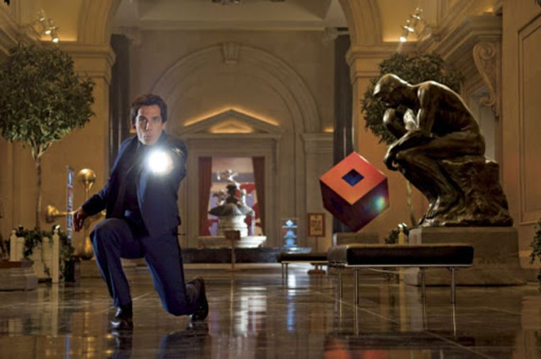 Ben Stiller in Night at the Museum: Battle of the Smithsonian. Beeld