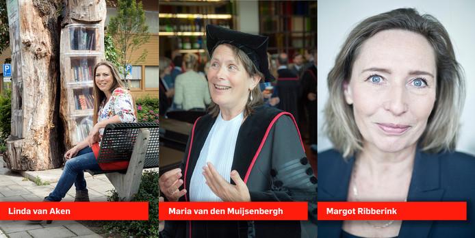De drie finalisten van de Nijmegenaar van het Jaar 2018