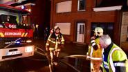 Desselgemse Steenweg afgesloten voor badkamerbrand