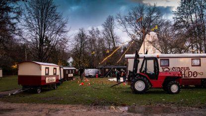Circus Ronaldo strijkt neer aan Burgemeesterpark