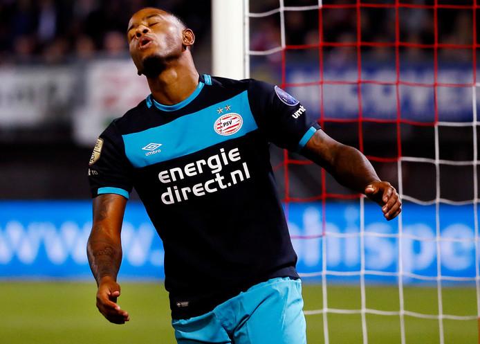 Sparta-PSV beker Luciano Narsingh baalt na een gemiste kans Foto ; Pim Ras