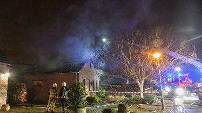 Villa onbewoonbaar na uitslaande brand