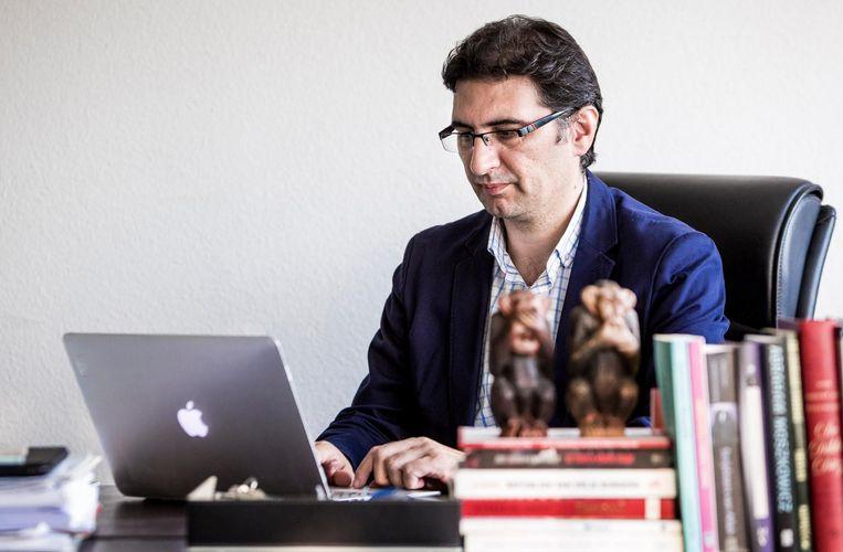 Portret van hoofdredacteur Mehmet Cerit, 31 augustus 2016. Beeld anp