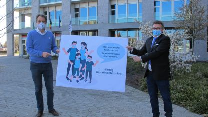 """Deinze wil alle inwoners met een mondmasker zien: """"Wie een masker draagt, beschermt de ander"""""""