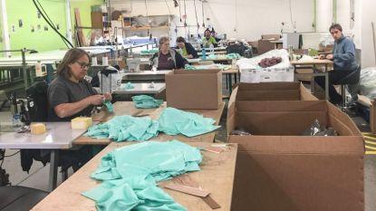 Aarova en Zonnehoeve produceren 15.000 mondmaskers voor hulpverleners in Oudenaarde, Kluisbergen, Kruisem en Wortegem-Petegem