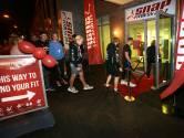 Eerste sporters stappen in Breda om middernacht al over de rode loper