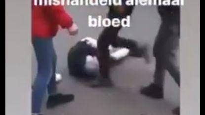 """Vechtfilmpje uit Menen gedeeld op Instagram: """"Die werd hard mishandeld. Allemaal bloed"""""""