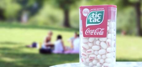 Tic Tac stopt de kersensmaak van Coca-Cola in snoepje