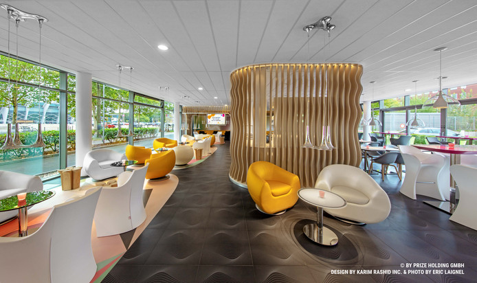 Designhotel Antwerpen op het Eilandje.
