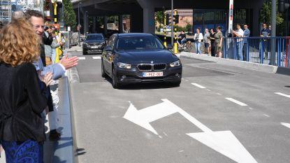 Het is eindelijk zo ver: de eerste wagens rijden over de nieuwe Marie Thumas-Durieuxbrug