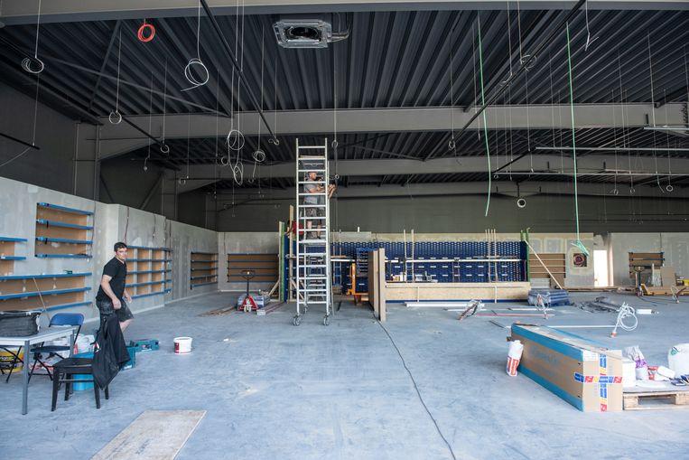 De winkel in Gavere wordt ongeveer 1.000 vierkante meter groot.