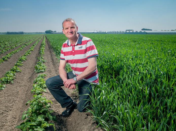 Bestuurder Adrie Bossers van landbouworganisatie ZLTO.