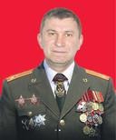 Sergej Doebinski als militair.