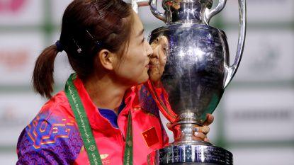 Chinese Liu Shiwen pakt wereldtitel tafeltennis in Boedapest