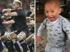 Ce très jeune néo-zélandais fait le buzz sur Internet avec son Haka