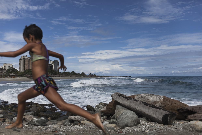 Het strand van La Guaira, de kustplaats waar politicus Juan Guaidó is geboren.