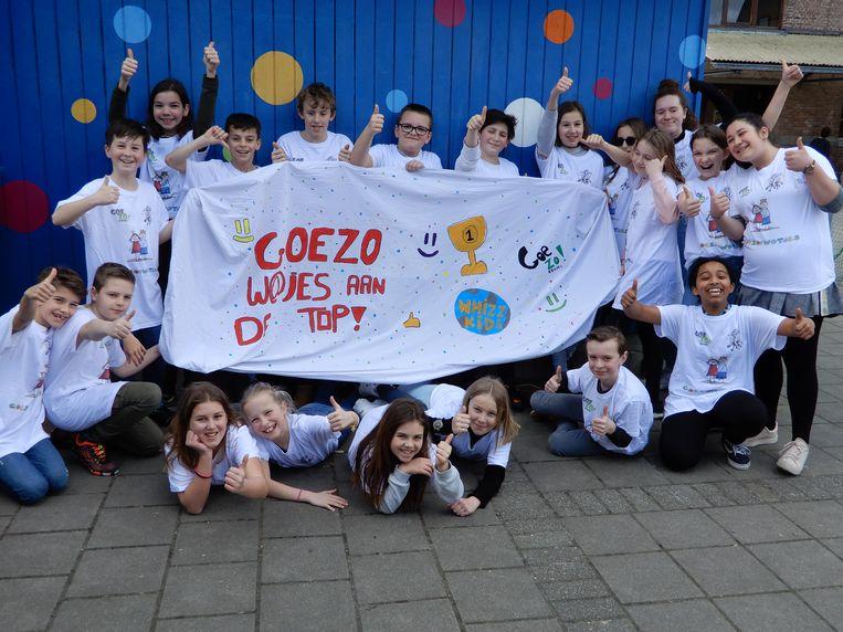 Team GOEZO!w@jes  behaalde zilver.