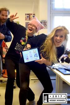 Lady Gaga, Google en... Madelon uit Twente: winnaars internet-Oscars!