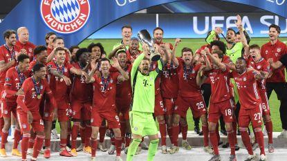 Bayern wint Europese Supercup na felbevochten strijd met Sevilla, Duitsers klaren klus pas in verlengingen