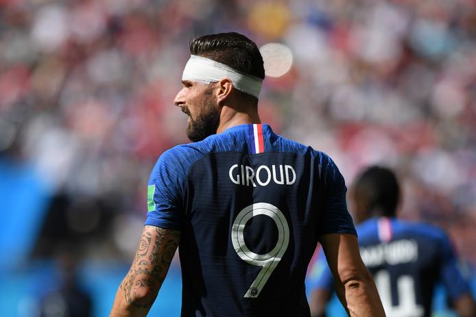 Olivier Giroud schoot geen bal op doel tijdens het WK in Rusland, maar werd wel wereldkampioen met Frankrijk.