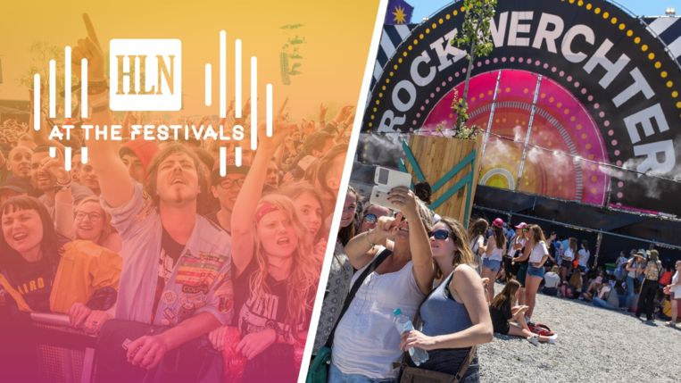 Werchter at the festivals