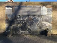 Monument voor verdronken burgemeester wordt snel hersteld