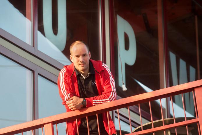 Pepijn van Schooten blijft aan als coach van de vrouwen van Upward. Hij is één van de drie trainers die wél op zijn post blijft. Archiefbeeld.